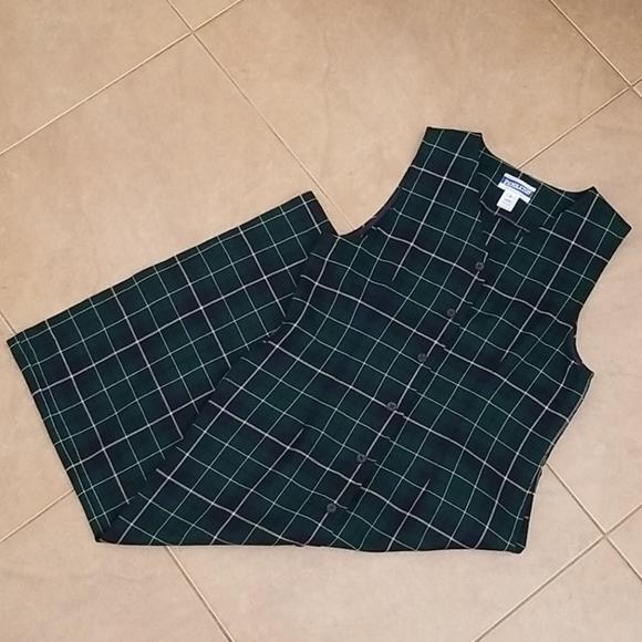 VTG 60s Wool Maxi Dress
